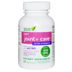 Genuine Health Corporation, Fast Joint + Care, Extra Strength, 60 Veggie Capsules