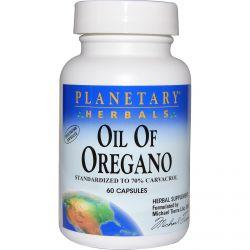 Planetary Herbals, Oil of Oregano, 60 Capsules