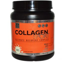 Neocell, Collagen Sport, Ultimate Recovery Complex, French Vanilla, 23.8 oz (675 g)