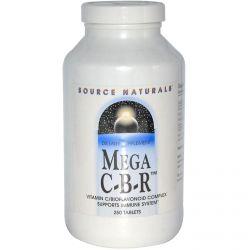 Source Naturals, Mega C-B-R, 250 Tablets