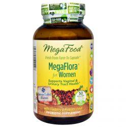 MegaFood, MegaFlora for Women, 90 Capsules
