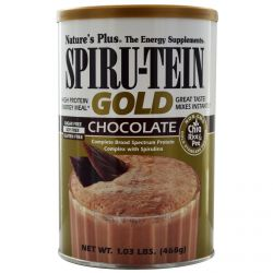 Nature's Plus, Spiru-Tein Gold, High Protein Energy Meal, Chocolate, 1.03 lbs (468 g)