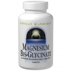 Source Naturals, Magnesium Bis-Glycinate, 120 Tablets