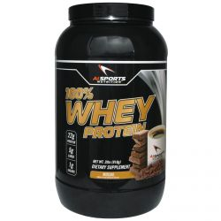 AI Sports Nutrition Anabolic Innovations, 100% Whey Protein, Mocha, 2 lbs (918 g)