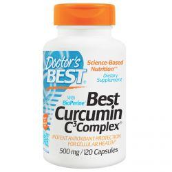 Doctor's Best, Best Curcumin C3 Complex, 500 mg, 120 Capsules