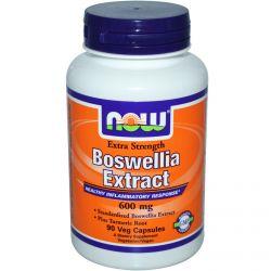 Now Foods, Boswellia Extract, Extra Strength, 600 mg, 90 Veggie Caps