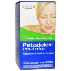 Enzymatic Therapy, Petadolex, Pro-Active, 60 Softgels