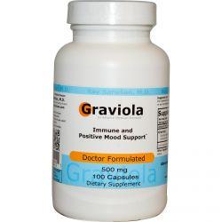 Advance Physician Formulas, Inc., Graviola, 500 mg, 100 Capsules