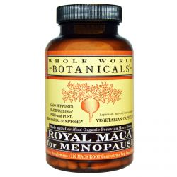 Whole World Botanicals, Royal Maca for Menopause, 500 mg, 120 Veggie Caps