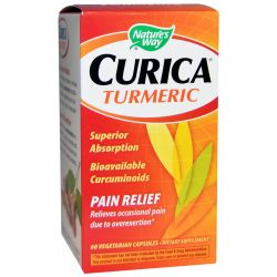 Nature's Way, Curica, Turmeric, Pain Relief, 60 Veggie Caps