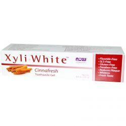 Now Foods, Xyliwhite Toothpaste Gel, Cinnafresh, 6.4 oz (181 g)