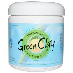 Rainbow Research, Green Clay, Facial Treatment Mask, 8 oz (225 g)
