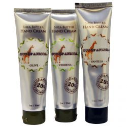 Out of Africa, Shea Butter Hand Cream Set, 3 Tubes, 1 oz (28.3 g) Each