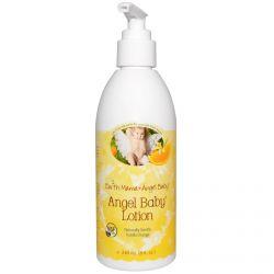 Earth Mama Angel Baby, Angel Baby Lotion, Natural Vanilla Orange, 8 fl oz (240 ml)