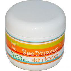 Live Live & Organic, Bee Yummy, Skin Food, 4 oz