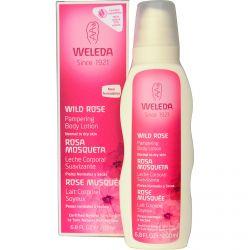 Weleda, Pampering Body Lotion, Wild Rose, 6.8 fl oz (200 ml)