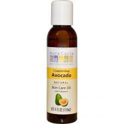 Aura Cacia, Natural Skin Care Oil, Comforting Avocado, 4 fl oz (118 ml)