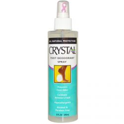 Crystal Body Deodorant, Crystal Foot Deodorant Spray, 8 fl oz (240 ml)