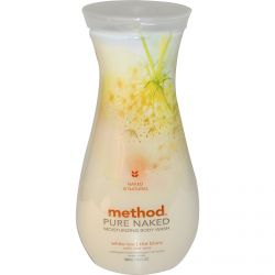 Method, Pure Naked, Moisturizing Body Wash, White Tea, 18 fl oz (532 ml)
