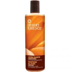Desert Essence, Jojoba Shampoo, Strengthening, 12.9 fl oz (382 ml)