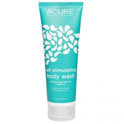 Acure Organics, Cell Stimulating Body Wash, Moroccan Argan Stem Cell + Argan Oil, 8 fl oz (235 ml)
