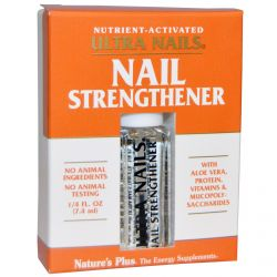 Nature's Plus, Ultra Nails, Nail Strengthener, 1/4 fl oz (7.4 ml)