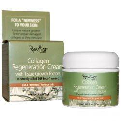 Reviva Labs, Collagen Regeneration Cream, With Tissue Growth Factors, 2 oz (55 g)