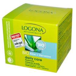 Logona Naturkosmetik, Daily Care, Skin Cream, Aloe & Verbena, 3.4 oz (100 ml)