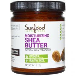 Sunfood, Moisturizing Shea Butter, 8 oz (227 g)
