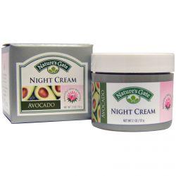 Nature's Gate, Night Cream, Avocado, 2 oz (57 g)