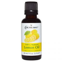 Cococare, 100% Natural Lemon Oil, Citrus Medica Limonum, 1 fl oz (30 ml)
