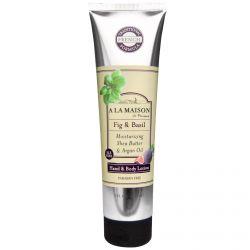 A La Maison de Provence, Hand & Body Lotion, Fig & Basil, 5 fl oz (150 ml)