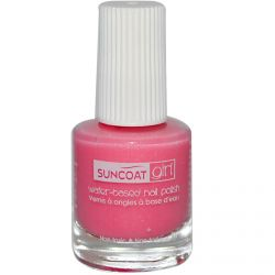 Suncoat Girl, Water-Based Nail Polish, Fairy Glitter 0.27 oz (8 ml)