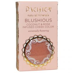 Pacifica, Blushious, Coconut Rose & Infused Cheek Color, Wildrose, 0.10 oz (3.0 g)
