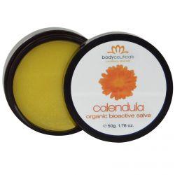 Bodyceuticals Calendula Skincare, Organic Bioactive Salve, Calendula, 1.76 oz (50 g)