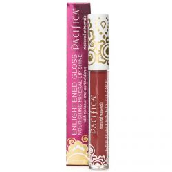 Pacifica, Enlightened Gloss, Nourishing Mineral Lip Shine, Ravish, 0.10 oz (2.8 g)