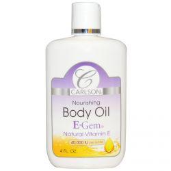 Carlson Labs, E-Gem, Body Oil, 4 fl oz