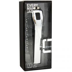 Every Man Jack, Manual Razor, Silver, 1 Razor, 4 Cartridges