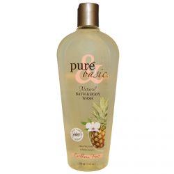 Pure & Basic, Natural Bath & Body Wash, Caribbean Heat, 12 fl oz (350 ml)
