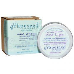 The Grapeseed Company Santa Barbara, Vine Eyes Anti-Aging Cream, 0.5 oz (14 g)