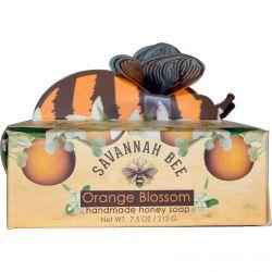 Savannah Bee Company Inc, Handmade Honey Soap, Orange Blossom, 7.5 oz (212 g)