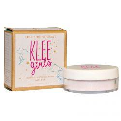 Luna Star Naturals, Klee Girls, All Natural Mineral Blush with Puff, Santa Barbara Kiss, 0.11 oz (3 g)