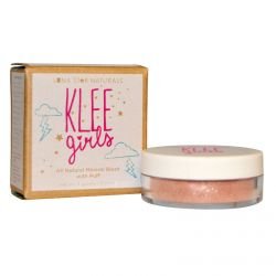 Luna Star Naturals, Klee Girls, All Natural Mineral Blush with Puff, Palm Springs Sun, 0.11 oz (3 g)