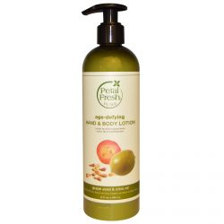 Petal Fresh, Pure, Age-Defying Hand & Body Lotion, Grape Seed & Olive Oil, 12 fl oz (355 ml)