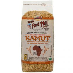 Bob's Red Mill, Organic Whole Grain Kamut, 24 oz (680 g)