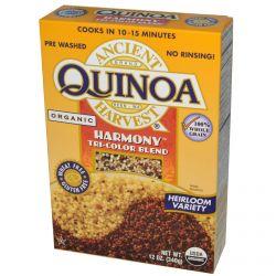 Ancient Harvest, Quinoa, Harmony, Tri-Color Blend, 12 oz (340 g)