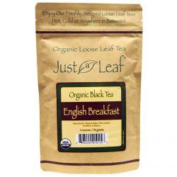 Just a Leaf Organic Tea, Black Tea, English Breakfast, 2 oz (56 g)