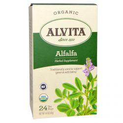 Alvita Teas, Organic Alfalfa, 24 Tea Bags, 1.41 oz (40 g)
