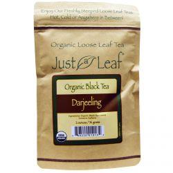 Just a Leaf Organic Tea, Black Tea, Darjeeling, 2 oz (56 g)