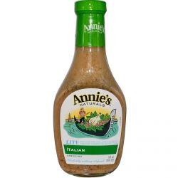 Annie's Naturals, Lite Italian Dressing, 16 fl oz (473 ml)